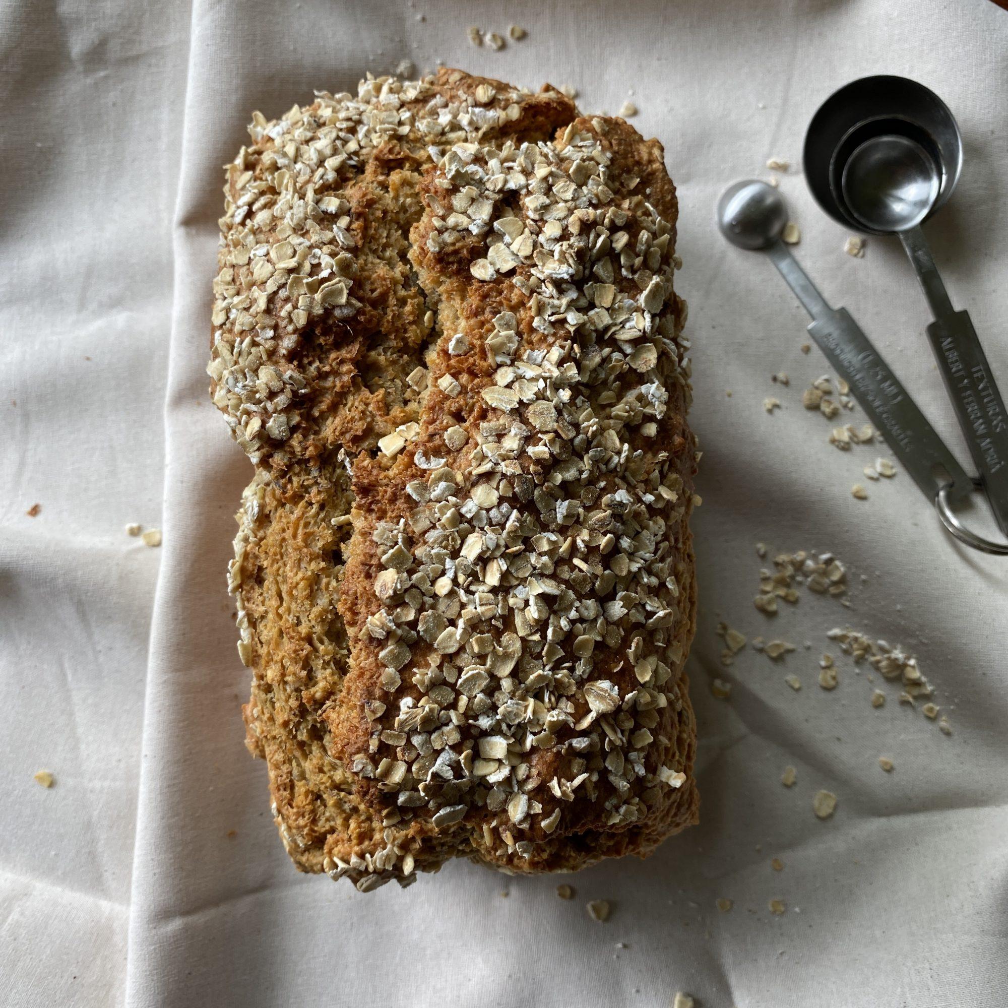 pane all'avena e formaggio